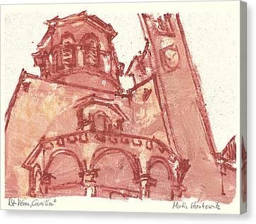 Saint Veran Cavaillon Canvas Print