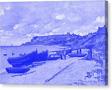 Sainte Adresse Claude Monet Japanese Porcelain Concept Canvas Print