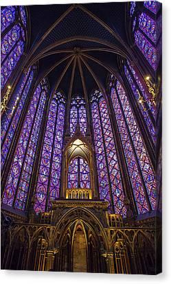 Sainte Chapelle Paris Canvas Print by Andrew Soundarajan