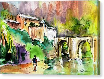 Sainte Enimie 04 Canvas Print by Miki De Goodaboom