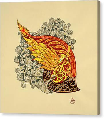 Salamander Canvas Print by Ian Herriott
