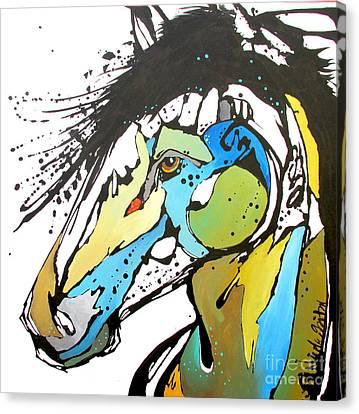 Sallie Canvas Print by Nicole Gaitan