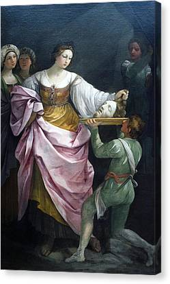 Salome With The Head Of Saint John Chicago Art Institute Canvas Print by Thomas Woolworth