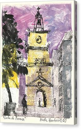 Salon De Provence Canvas Print