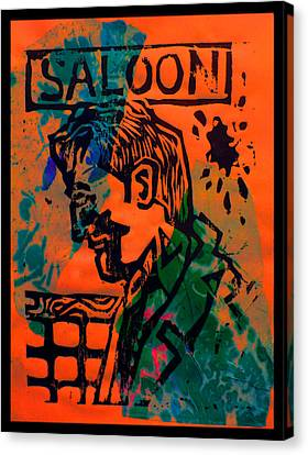 Saloon Canvas Print by Adam Kissel