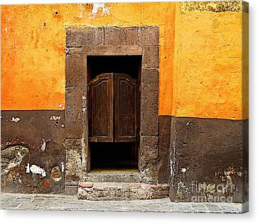 Saloon Door 4 Canvas Print by Mexicolors Art Photography
