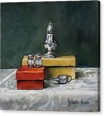 Salt And Pepper Canvas Print by Jolante Hesse