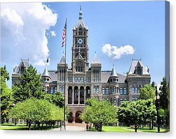 Salt Lake City County Building Canvas Print
