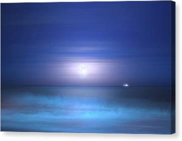 Salt Moon Canvas Print