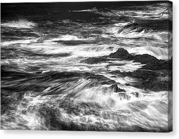 Salt Point Chaos Canvas Print by Jon Glaser