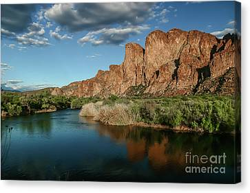 Salt River Arizona Canvas Print by Chandra Nyleen