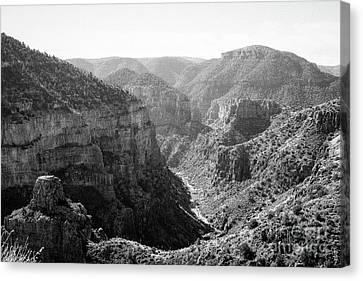 Salt River Canyon Canvas Print by Jon Burch Photography