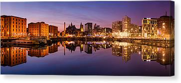 Salthouse Dock, Liverpool Canvas Print