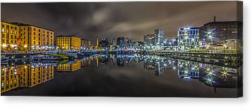 Salthouse Dock Still Waters Canvas Print