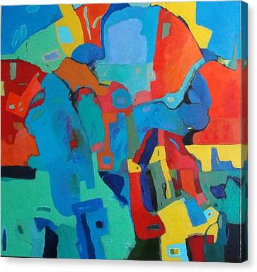 Saltillo Summers Canvas Print by Bernard Goodman