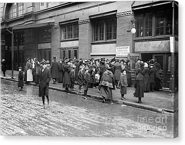Salvation Army, 1908 Canvas Print by Granger