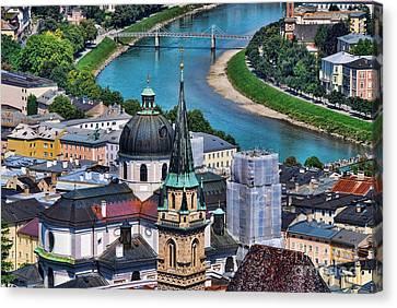Salzburg Austria Europe Canvas Print by Sabine Jacobs