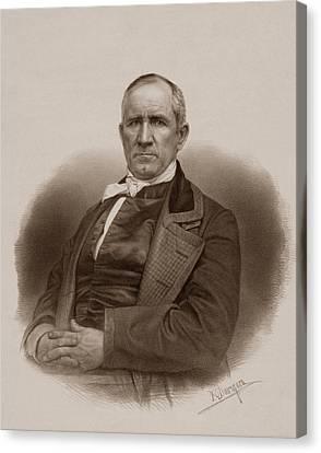Warishellstore Canvas Print - Sam Houston Portrait by War Is Hell Store