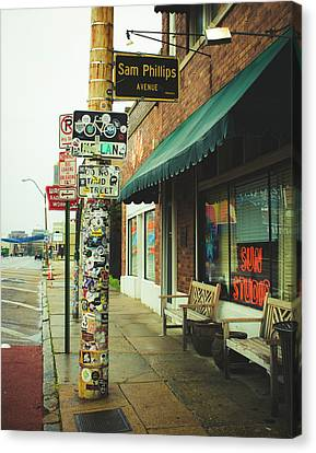 Sam Phillips Sun Studios Canvas Print