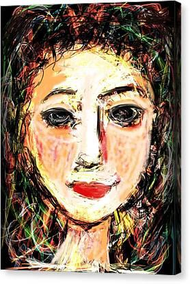 Samantha Canvas Print by Elaine Lanoue