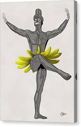 Samba  Canvas Print by Quim Abella
