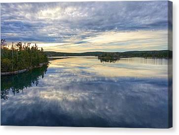 Sambro Basin I Nova Scotia Canvas Print by Heather Vopni