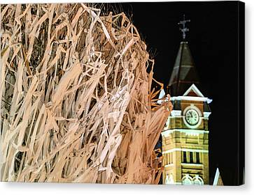 Toomers Oaks Canvas Print - Samford Hall And Rolling Toomer's by JC Findley