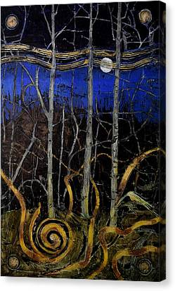 Samhain Canvas Print by TL Sourbeer