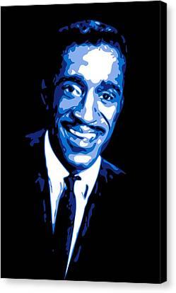 Sammy Davis Canvas Print by DB Artist
