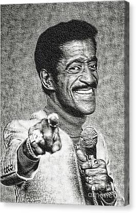 Sammy Davis Jr - Entertainer Canvas Print