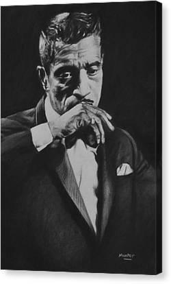 Sammy Davis Canvas Print by Steve Hunter