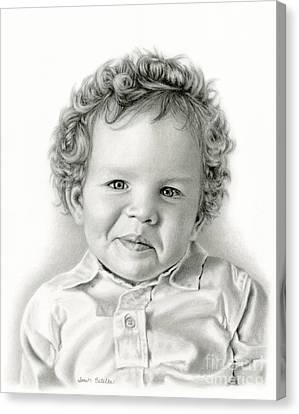 Sammy's Smile Canvas Print by Sarah Batalka