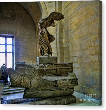 Samothrace II Canvas Print by Chuck Kuhn