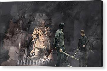 Samurai 0015415 Canvas Print by Jani Heinonen