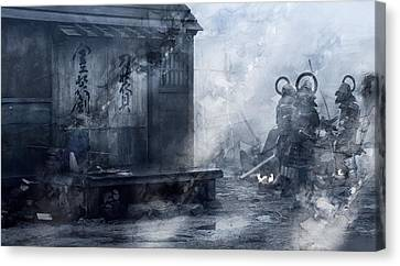 Samurai 27957 Canvas Print by Jani Heinonen