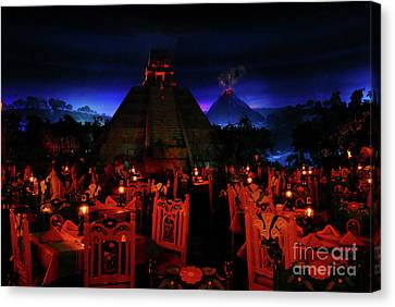San Angel Inn Mexico Canvas Print by David Lee Thompson