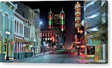 San Antonio Alight Canvas Print by Frozen in Time Fine Art Photography