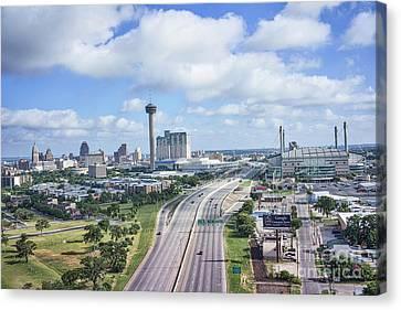 San Antonio City View Canvas Print