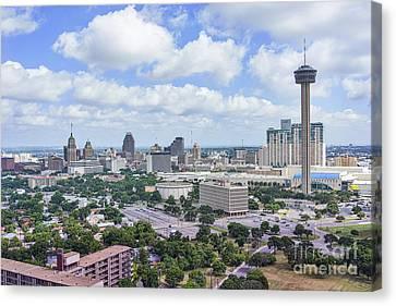 San Antonio Cityscape Canvas Print