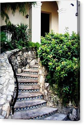 San Antonio Stairway Canvas Print by Will Borden