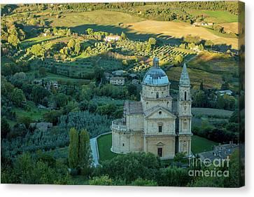 Canvas Print featuring the photograph San Biagio Church by Brian Jannsen