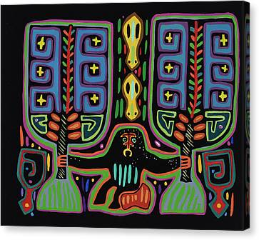 San Blas I Canvas Print by Pat Saunders-White