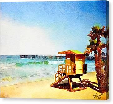 San Clemente Beach, California Canvas Print