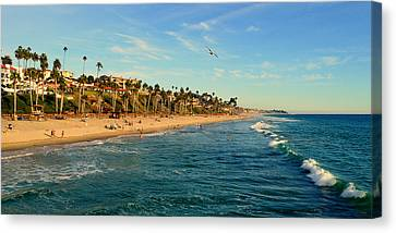 Canvas Print featuring the photograph San Clemente Coastline - California by Glenn McCarthy Art and Photography