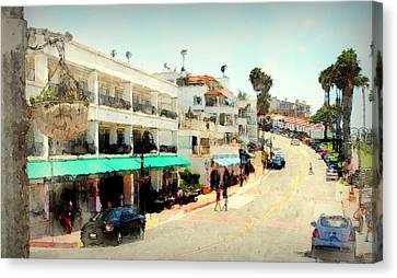 San Clemente Painted 3 Canvas Print
