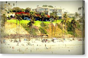 San Clemente Painted 5 Canvas Print