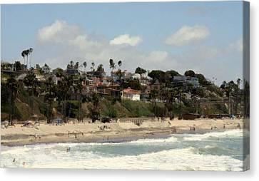 San Clemente Painted 6 Canvas Print