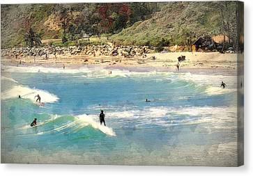 San Clemente Painted 7 Canvas Print
