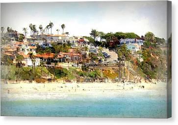 San Clemente Painted 8 Canvas Print