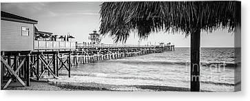 Clemente Canvas Print - San Clemente Tiki Umbrella Panorama Photo by Paul Velgos